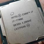 Intel 7700K overclock kepada 7GHz
