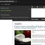 Chrome dan Firefox terbaru akan beri amaran sambungan http tidak selamat