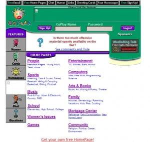 Hosting free dari goplay.com
