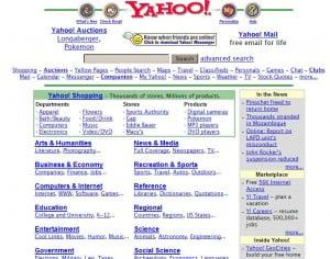 Yahoo juga popular dulu