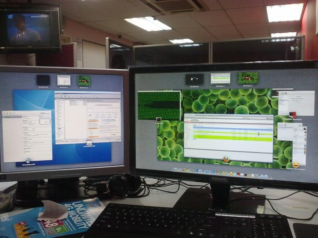 Hackintos PC dengan dual monitor